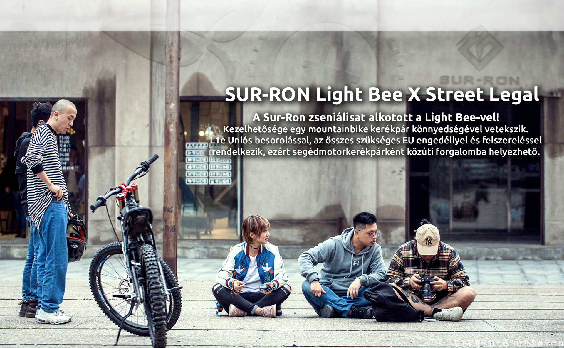 Sur-Ron Light Bee X street legal